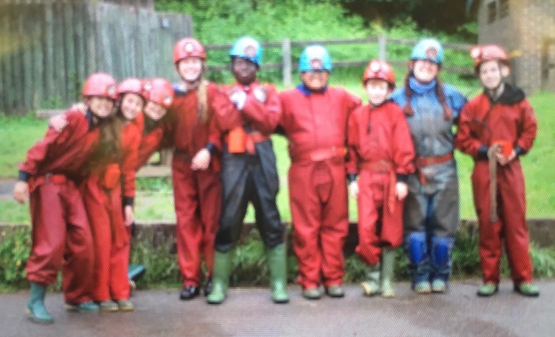 After caving
